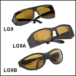 Laser Safety Glasses: 25% Visible Light Transmission