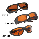 LG10 Amber Lens: 35% Visible Light Transmission
