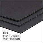 Black Construction Hardboard