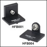 Flexure Stage Accessories: Connectorized Fiber Holder