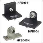 Flexure Stage Accessories: Connectorized-Fiber Holders