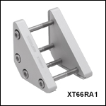 Right-Angle Clamp for 66 mm Rails