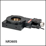 NanoRotator with SM2-Threaded Central Aperture