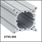 XT95 95 mm Construction Rails