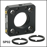 SM05-Threaded 16 mm Cage Plate