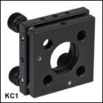 30 mm Cage-Compatible Smooth Bore Kinematic Mount