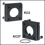 Kinematic Mounts for 60 mm Cage Systems