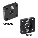 Individual 30 mm Cage Plates for Laser Diodes