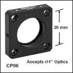 StandardCage Plate for Ø1in Optics