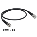 BNC-to-BNC Cables, Ø0.2in Cable