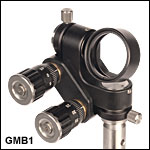 Full Gimbal Mirror Mount for Ø1in Optics