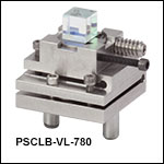 Adjustable Polarizing Cube Beamsplitter Modules