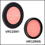 VIS/IR Fluorescing Alignment Disks (SM1 or RMS Threaded)