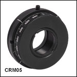 SM1-Threaded Continuous Rotation Mount for Ø1/2in Optics