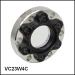 High-Vacuum CF Flange Viewports for Ø1.5in Wedged Windows
