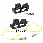 2-Paddle Polarization Controllers, Ø18 mm Loop