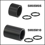 Ø1/2in Lens Tubes Without External Threads