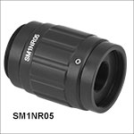 Zoom Housing for Ø1/2in Optics, 0.7in (18 mm) Travel