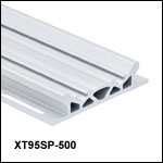 XT95 95 mm One-Sided Rails