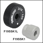 3/16in-100 Removable Adjustment Knobs