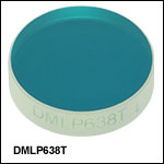 Longpass Dichroic Mirrors/Beamsplitters: 638 nm Cutoff Wavelength