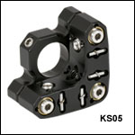 Ø1/2in Precision Kinematic Mirror Mount