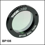 8:92 (R:T) Pellicle Beamsplitters, Uncoated: 400 - 2400 nm