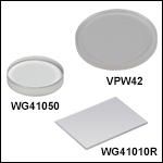 UV Fused Silica Broadband Windows, Uncoated