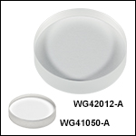 UV Fused Silica Broadband Windows, AR Coated: 350 - 700 nm
