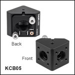 16 mm Cage Right-Angle Kinematic Mirror Mount