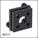 30 mm Kinematic Cage Mount