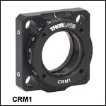 30 mm Cage Rotation Mount, SM1 Threaded