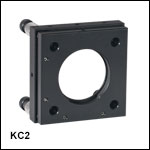 60 mm Cage Kinematic Mirror Mounts
