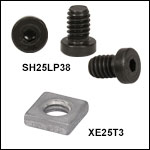 Low-Profile Channel Screws and T-Nuts for 66 mm Rails