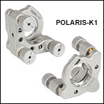 Polaris Ø1in Kinematic Mirror Mounts, 3 Adjusters