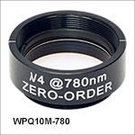 Ø1in Zero-Order Quarter-Wave Plates, SM1-Threaded Mounts