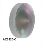 Axicons (AR Coated: 1050 - 1620 nm)