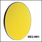 Round Protected Gold Mirrors: 800 nm - 20 µm