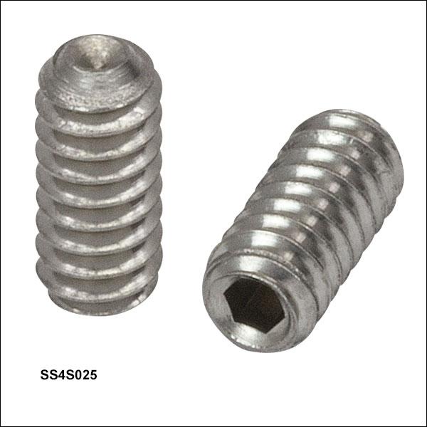 Setscrews and Thumbscrews