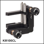 Kinematic Rectangular Optic Mounts, Adjustable Optic Height