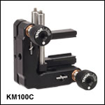 Kinematic Cylindrical Lens Mount