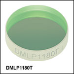Longpass Dichroic Mirrors/Beamsplitters: 1180 nm Cutoff Wavelength