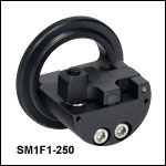 SM1-Threaded Fiber Clamp