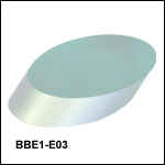 E03 Broadband Dielectric-Coated Elliptical Mirrors