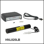 2 mW Red (632.8 nm) HeNe Lasers