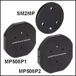 Ø2in Off-Axis Parabolic Mirror Mounting Adapters