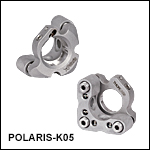 Polaris<sup>®</sup> Ø1/2in Kinematic Mirror Mount, 3 Adjusters