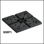 Vertical Translation Stage Accessories: Grooved Top Plate