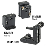 Kinematic Mounts for 1in Tall Rectangular Optics