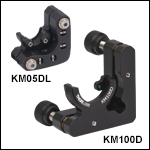 Kinematic D-Shaped Mirror Mounts